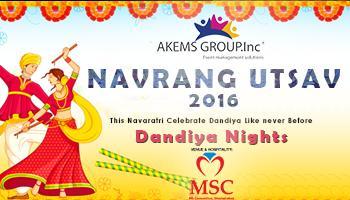 NAVRANG UTSAV 2016 at MS Convention