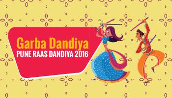 Garba Dandiya event  at Aundh, PUNE  RAAS DANDIYA 2016