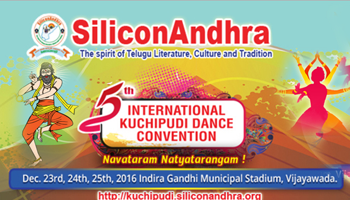 SiliconAndhra - 5th International Kuchipudi Dance Convention