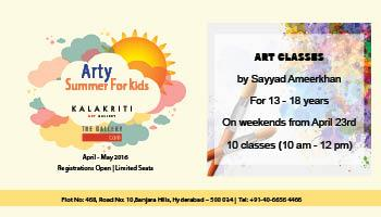 Arty Summer - Art Classes