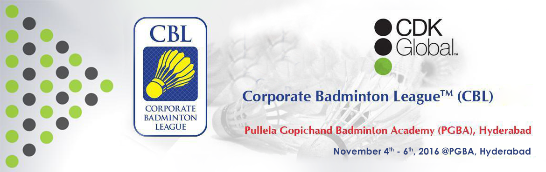 Corporate Badminton League 2016