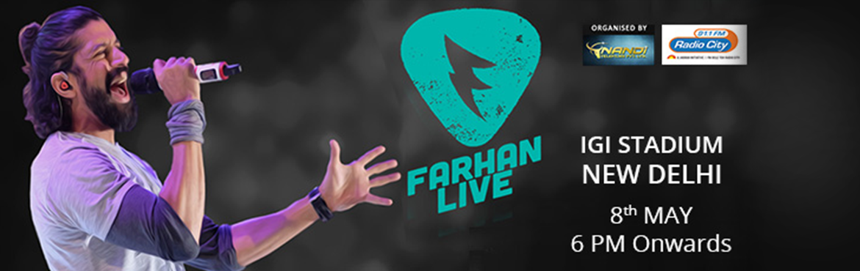 Farhan Akhtar Live - Delhi
