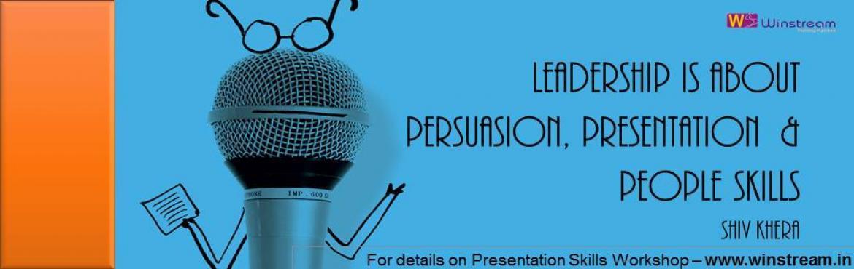 Presentation Skills Workshop 20/21 October