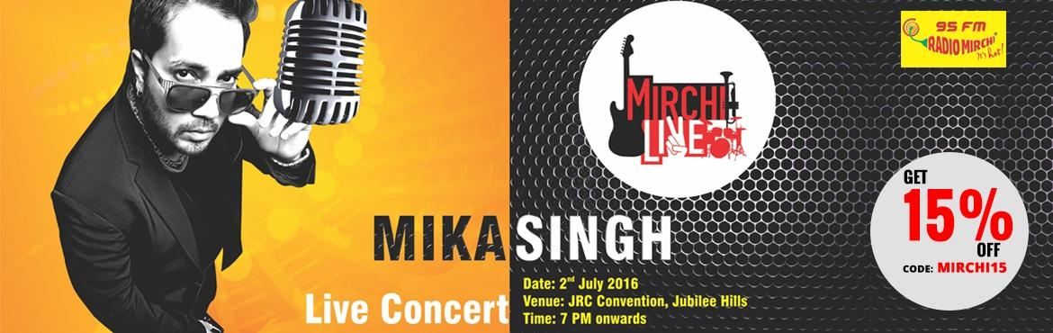 Mirchi Live with Mika