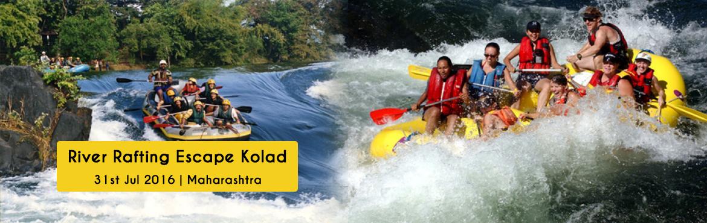 31st July Sunday River Rafting Escape Kolad