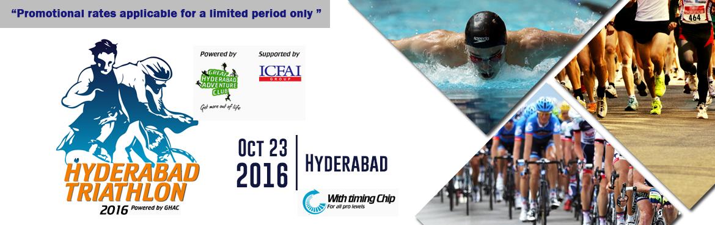 Hyderabad Triathlon 2016