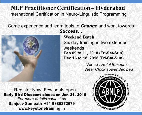 NLP Practitioner - International Certification from ABNLP ...