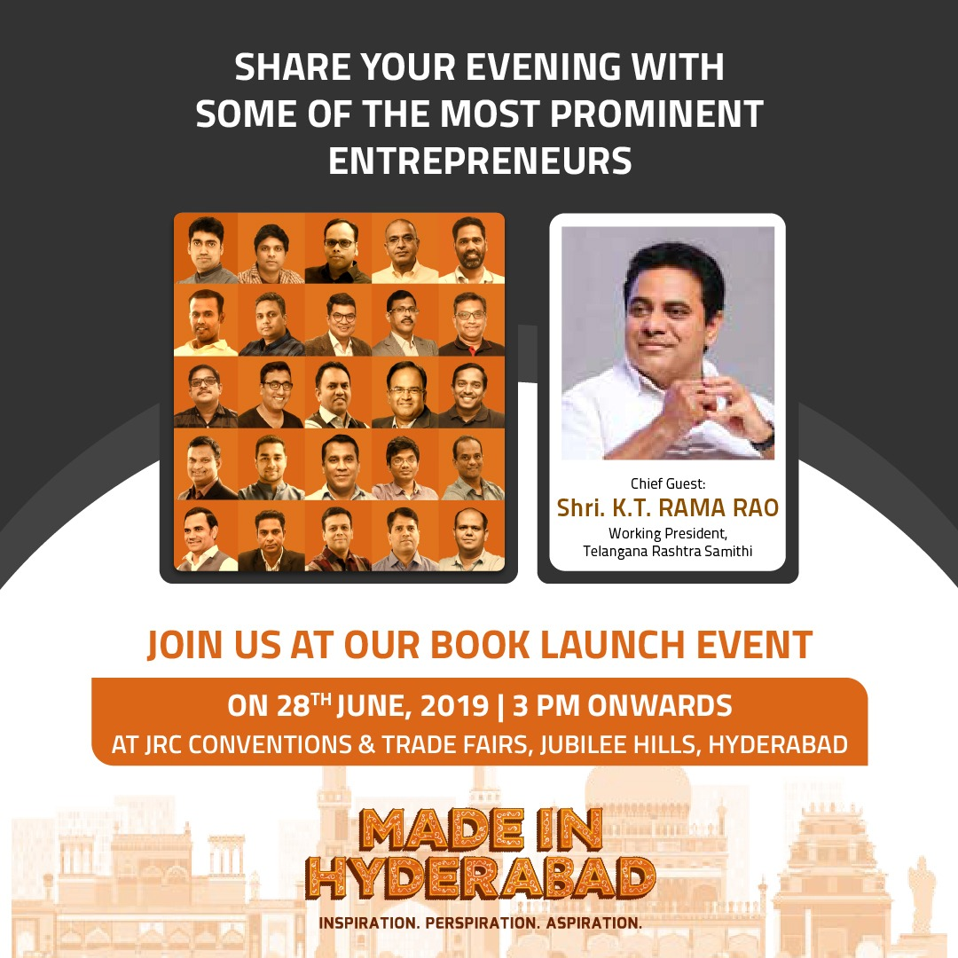 Made In Hyderabad Book Launch Event - Hyderabad | MeraEvents com