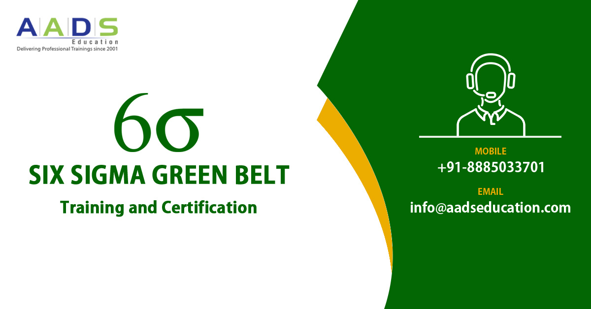 Six Sigma Training Six Sigma Green Belt Certification In Hyderabad