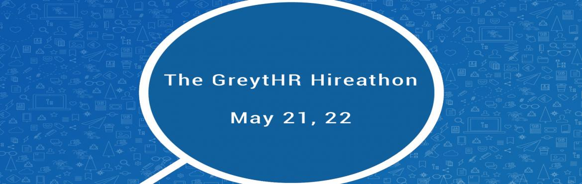 Book Online Tickets for The GreytHR Hireathon, Bengaluru. Greytip Software is India's leading HR & Payroll software company. With a customer base of over 3,500 customers we touch the lives of more than 6,50,000 employees.Our mission is to improve people-centric practices and performance in SMEs (S