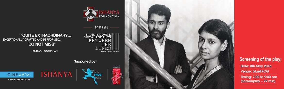 Book Online Tickets for Ishanya Foundation presents Screening of, Pune. When professional and personal lives collide, relationships go on trial.Here\'s a story of a lawyer couple who end up arguing on the opposite sides of a criminal trial, blurring the line between their personal and professional lives.Nandita Das and D