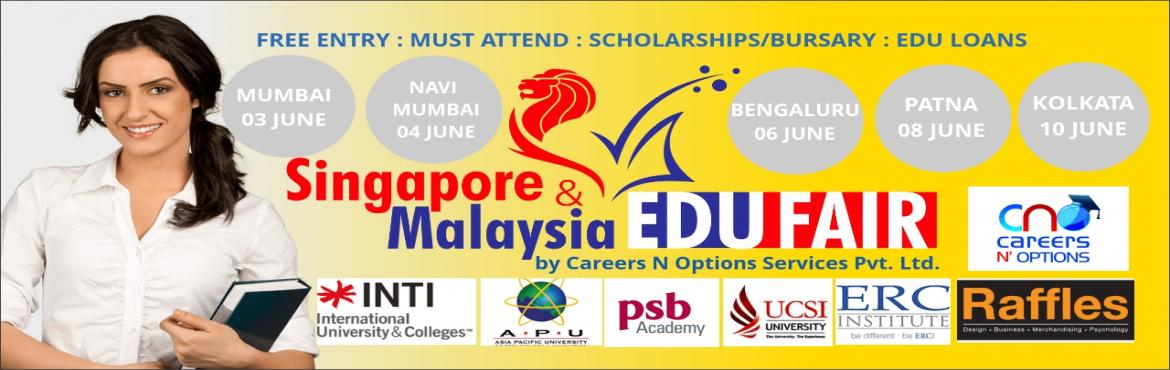 Book Online Tickets for SINGAPORE AND MALAYSIA EDU FAIR 2016 - P, Patna. We heartily invite you to experience \