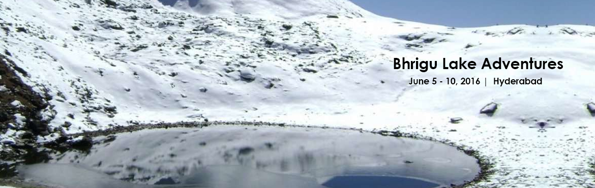 Bhrigu lake famous for trekking near Manali. It is famous for its  hot water springs.