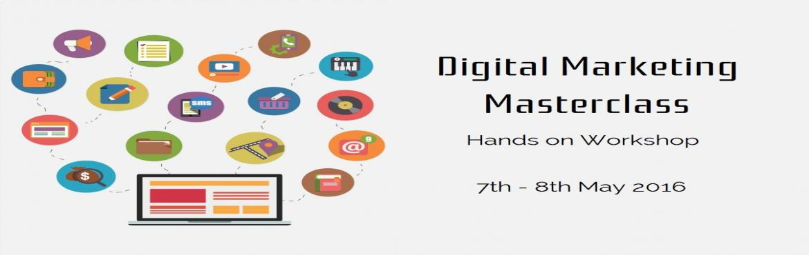 Book Online Tickets for Online Marketing Masterclass, Bengaluru. A good product or a service deserves to be outreached to the right target segment,why to rely on someone else for your market outreach,do it yourself because you are the guy for this job. Learn digital marketing in a weekend time about the best ways