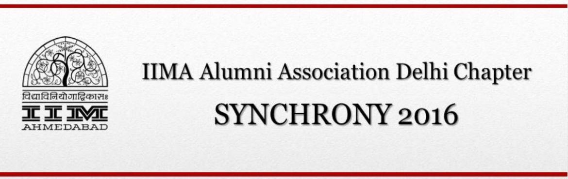 IIMA Alumni Association - Synchrony 2016