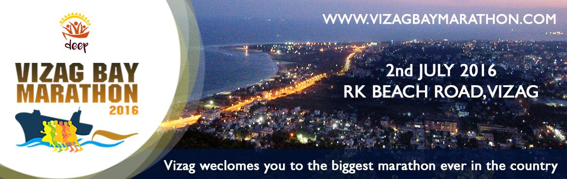 Book Online Tickets for VIZAG BAY MARATHON 2016, Visakhapat. Vizag Bay Marathon(1stNight Marathon of India) aims at bringing the people of Vizag together for a cause. It is an event that represents the love, compassion, and the passion that the people of Vizag share for their city. This event is fo