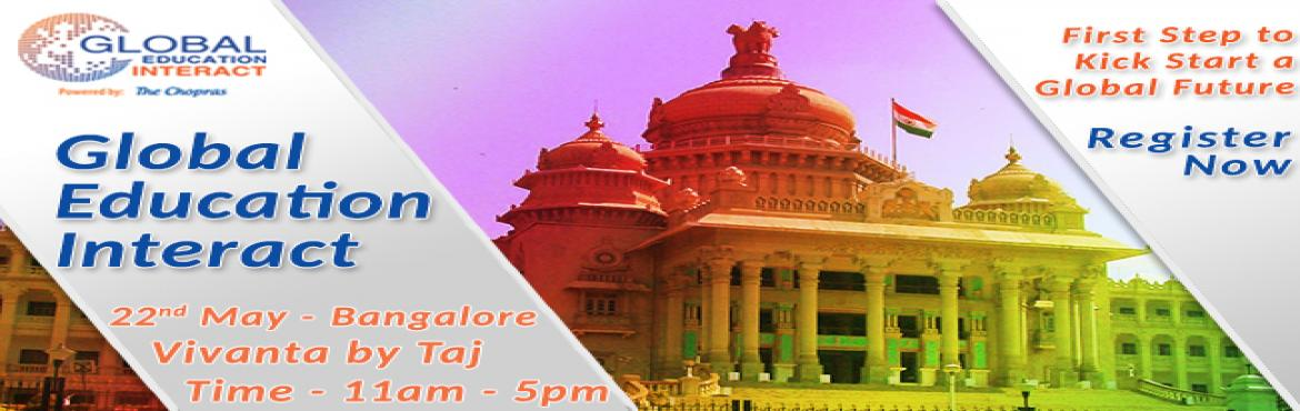 The Chopras - Global Education Fair 2016 in Bangalore