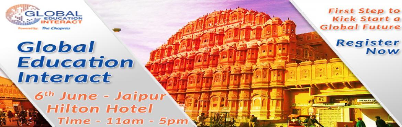 The Chopras - Global Education Fair 2016 in Jaipur