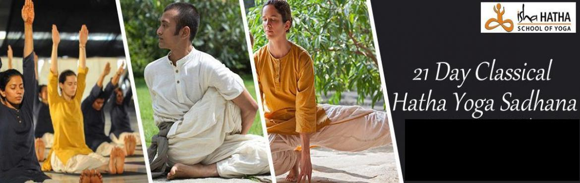 Book Online Tickets for 21 Days Classical Hatha Yoga, JUNE 20 - , Mumbai.     The Classical Hatha Yoga Program - 21 Days! \