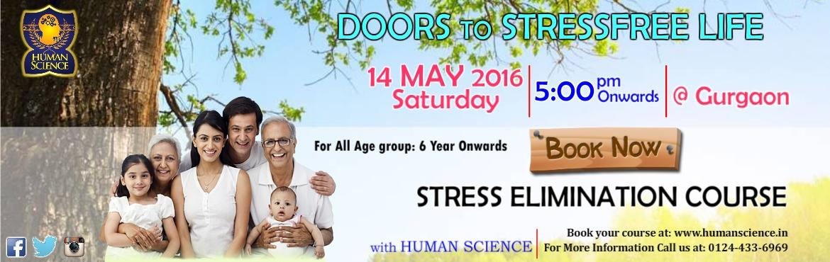 Book Online Tickets for Stress Elimination Program, Gurugram. Stress Elimination Program : Are you tired, and having trouble thinking of when was the last time you gave yourself good attention?? Do you work terribly long hours and feel like you don't have time to take care of your health?? Are yo