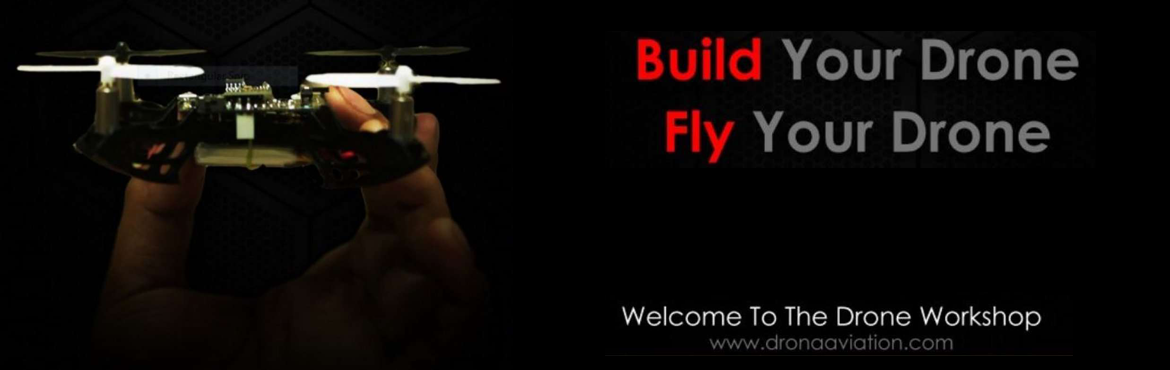 Book Online Tickets for Drona Aviation Learn, build and fly dron, Mumbai. Details: Do you think making/flying drones can be fun? Of course, we all do. In fact, the idea of flying surveillance cameras, robotic companions and even unmanned aircraft carrying supplies around the planet is swiftly becoming mainstream. So much t