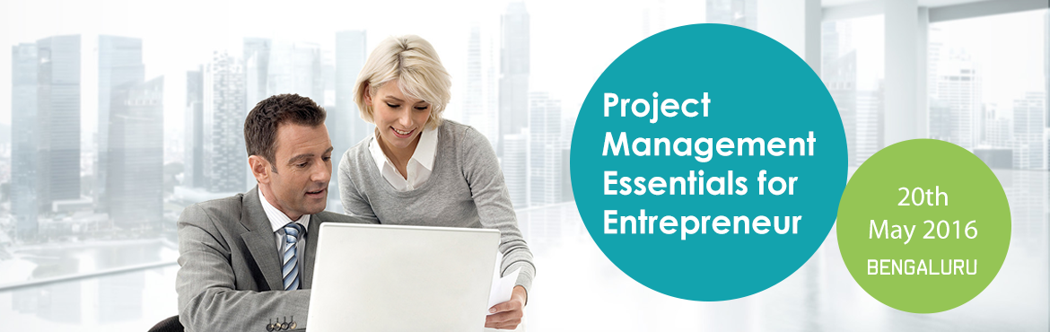 Book Online Tickets for Project Management Essentials for Entrep, Bengaluru. If you are an entrepreneur, then you are a Project Manager. Start looking at your business as a Project and start leveraging the Project Managment principles to work on your business. One Life Academy, presents a power packed 90 minute session to pro