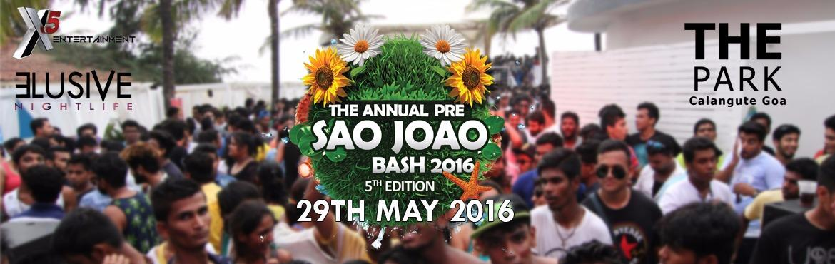 The Annual Pre Saojoao Bash | 5th Edition