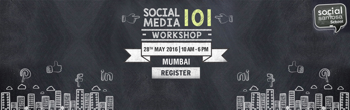 Book Online Tickets for Social Media 101 Workshop at Mumbai, Mumbai. From a buzzword to a marketing reality,social mediahas evolved into a science. Trial and error in social media marketing is passe. It is now objective, strategy and results. Arrivalof social media redefines the very marketing