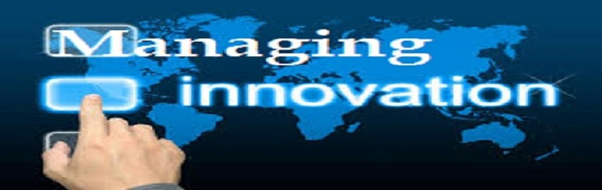 Book Online Tickets for Managing Innovation Workshop, Hyderabad. About the Course Recent surveys suggest that CEOs from across the globe and industries expect their leadership team to have Innovation and Creativity as the top skillset in their leaders.  This workshop teaches the participants about how to cha