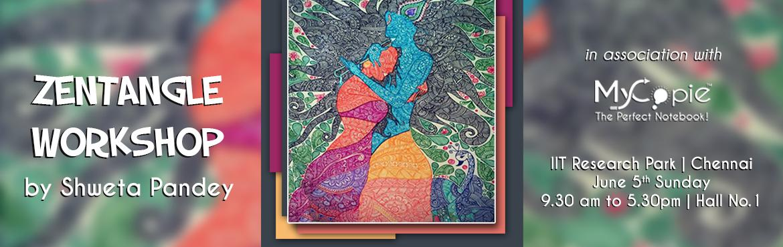Zentangle Art Workshop by Shweta Pandey in association with MyCopie