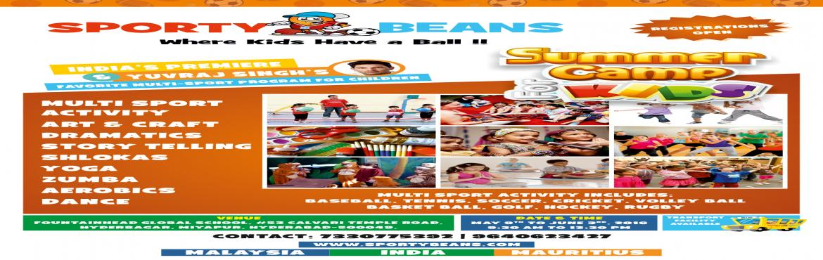 SPORTY BEANS SUMMER CAMP FOR KIDS