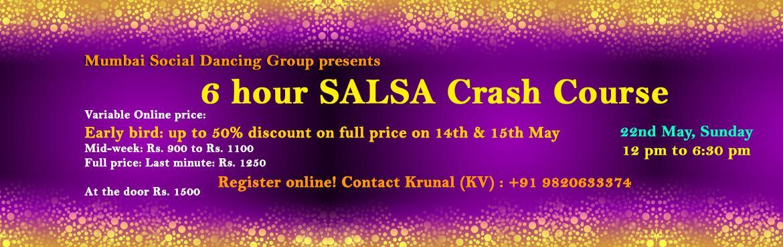 6 hour Salsa Crash course for beginners