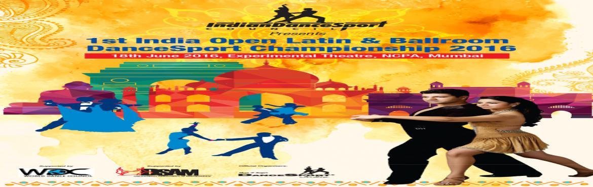 1st India latin and ballroom dance dancesport championship 2016 Dance championship and exibition.
