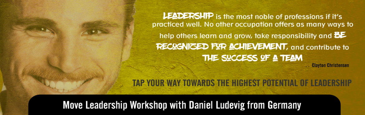 Book Online Tickets for Move Leadership Bangalore, Bengaluru. This workshop is an eye-opening, high-energy and fun learning experience that encourage participants to re-think their own leadership models. This workshop improve leadership, communication and effectiveness by using movement, creative improvisation,