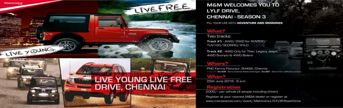 Mahindra LYLF Offroad Drive is organized by the Terratigers for Mahindra 2WD  4WD SUV owners