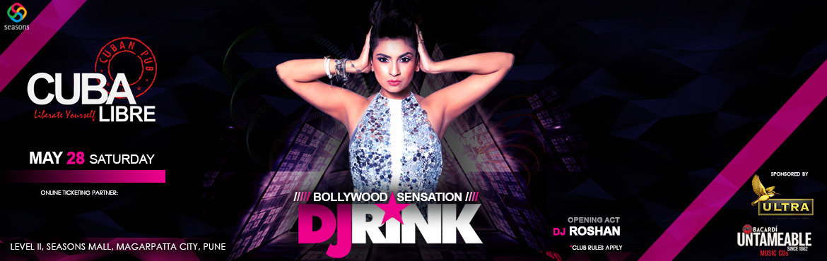 Book Online Tickets for Bollywood Sensation with DJ RINK, Pune. The devastating Saturday recalls for another Phenomenal night \