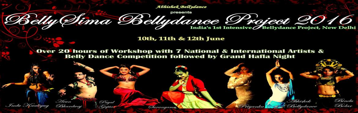 Book Online Tickets for BellySima Grand Hafla Night and Bellydan, NewDelhi. Get ready to watch spectacular Bellydance performances by Amazing Artists in BellySima Bellydance Project 2016 on 12th June at Zorba the Buddha, near Ghitorni Metro Station, Delhi... If you haven\'t booked your spots yet for the Grand Hafla Night &am