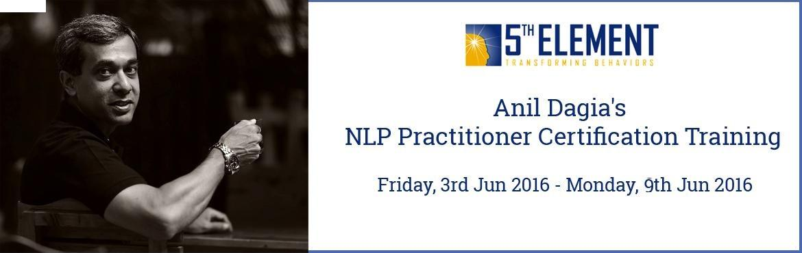 Anil Dagias NLP Practitioner Certification Training - June 2016 Pune