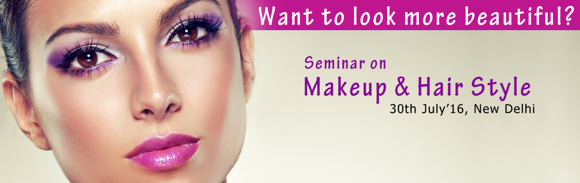 Makeup and Hair Style Seminar by Glamshe