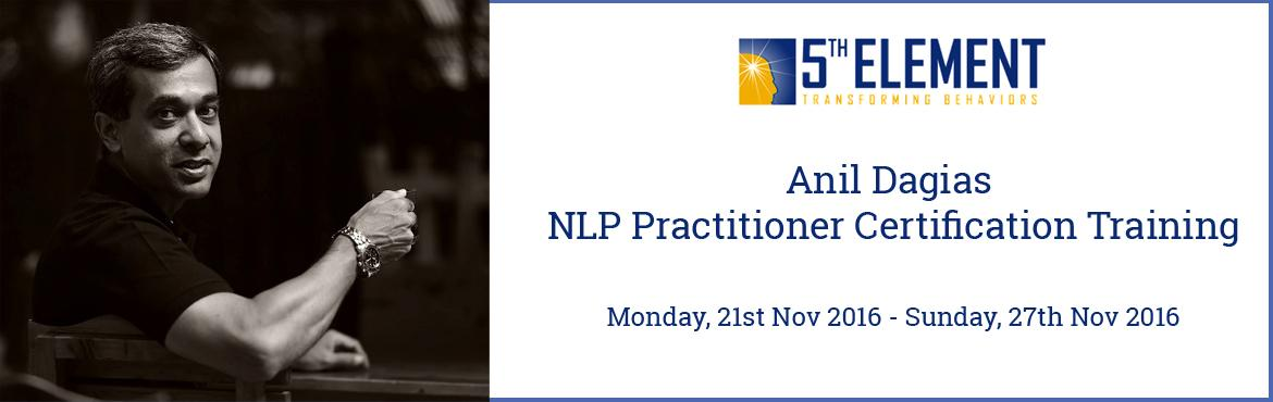 Anil Dagias NLP Practitioner Certification Training - Nov 2016 Pune