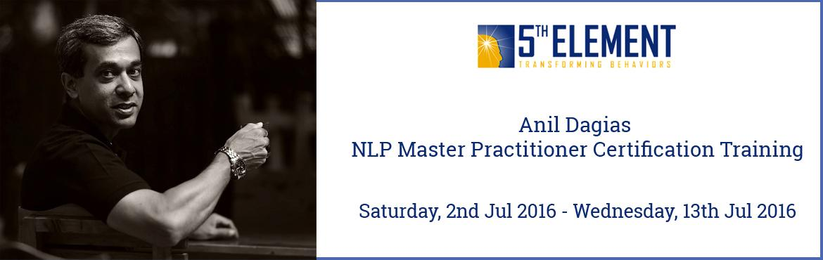 Anil Dagias NLP Master Practitioner Certification Training - Jul 2016 Pune