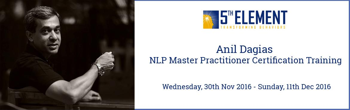 Anil Dagias NLP Master Practitioner Certification Training - Dec 2016 Pune
