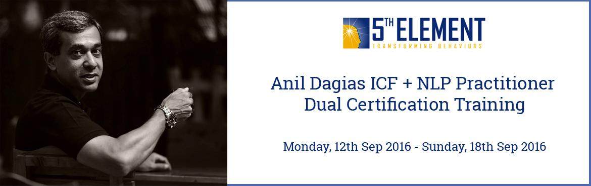 Anil Dagias ICF + NLP Practitioner Dual Certification Training - Sep 2016 Pune
