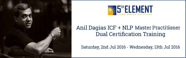 Anil Dagias ICF + NLP Master Practitioner Dual Certification Training - Jul 2016 Pune