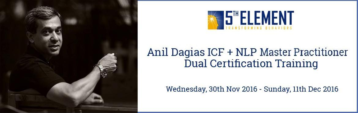 Anil Dagias ICF + NLP Master Practitioner Dual Certification Training - Dec 2016 Pune