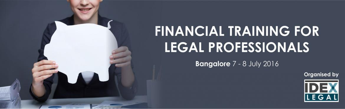 Financial Training for Legal Professionals - Bangalore