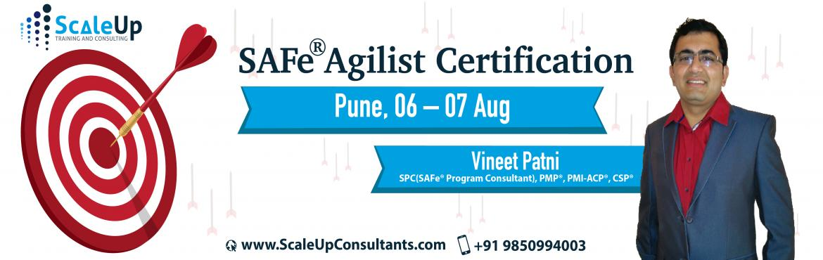 Book Online Tickets for SAFe Agilist Certification, Pune (6-7 Au, Pune.  About SAFe Agilist Certification Workshop:   The SAFe® Agilist certification is especially designed for agile leaders, project, program and portfolio managers who work in a scaled agile set-up. The SAFe Agilist certification program is for