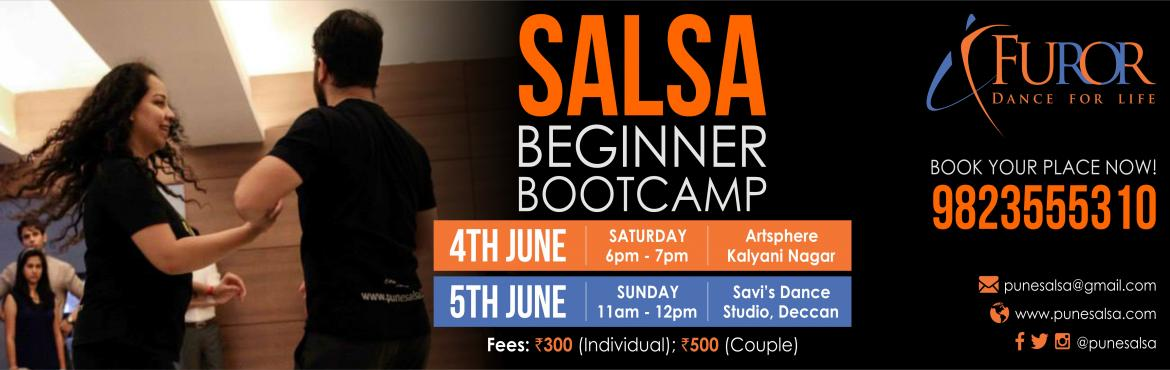 Book Online Tickets for SALSA bootcamp JUNE4-5th 2016, Pune. The fun packed, fast and the most effecient way to start dancing salsa is back :):) ----------------------------------------------------- A one  hour workshop dedicated to getting your left feet grooving to the rhythms of SALSA Designed especial