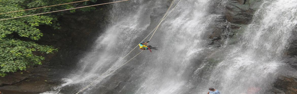 Waterfall Rappelling at Bhivpuri copy