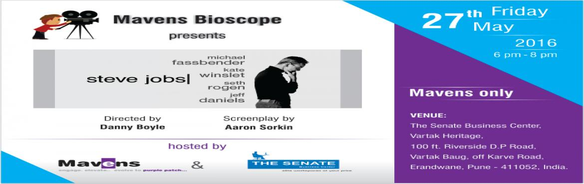Book Online Tickets for Mavens Bioscope - movie Steve Jobs, Pune. Mavens Bioscope - movie 'Steve Jobs' (a Mavens-only event) \